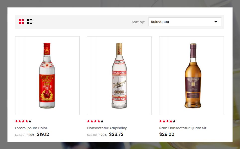 Reszponzív Trewin Wine Store Theme PrestaShop sablon 78189