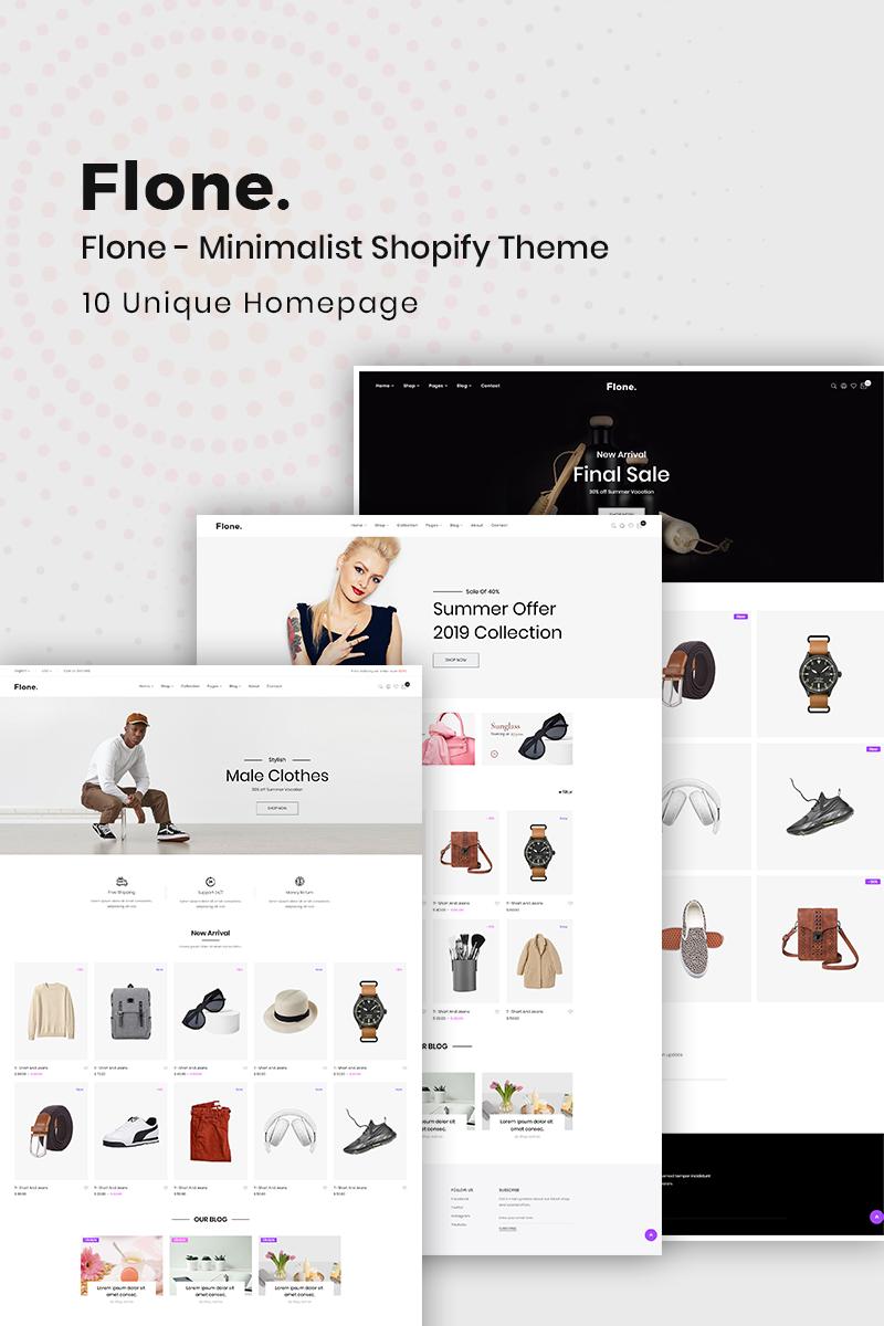 Flone - Minimalis Shopify Theme