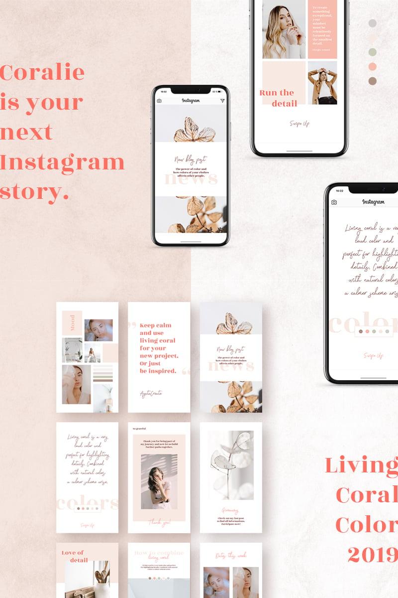 Media społecznościowe Coralie - Instagram Stories #78213