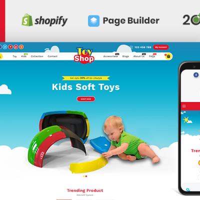 Toytown Kids Store Shopify Theme Shopify Theme #78278