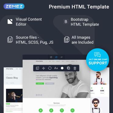 Купить  пофессиональные Bootstrap и html шаблоны. Купить шаблон #78390 и создать сайт.
