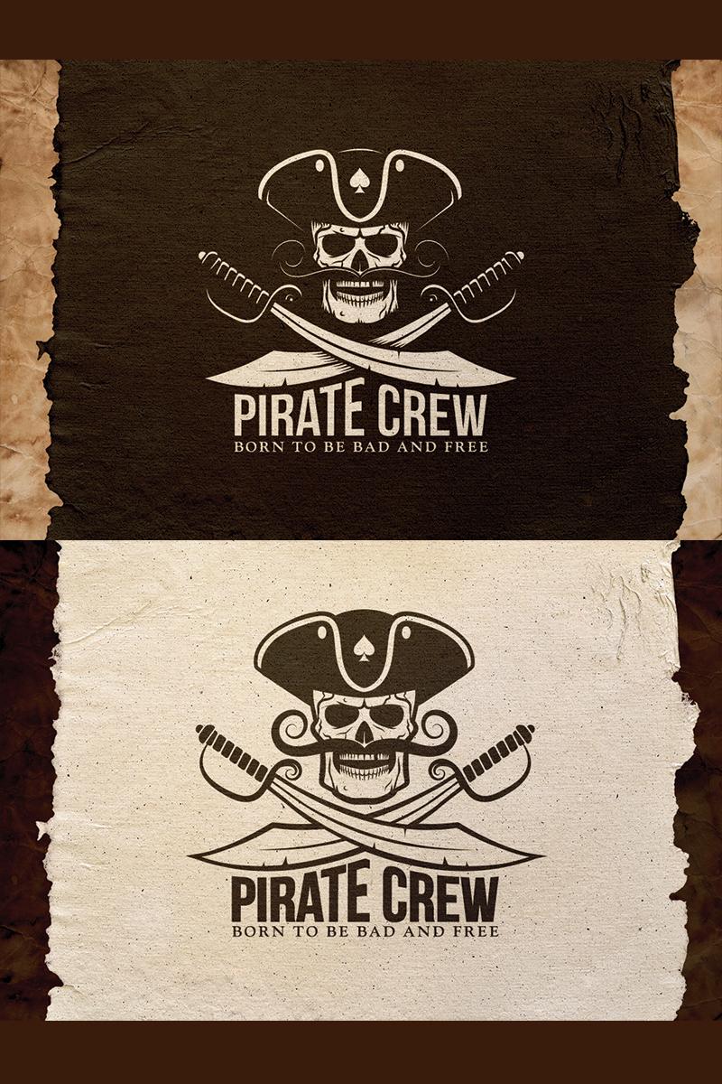 """Tema Illustrazione #78360 """"Pirate Crew Emblem"""""""