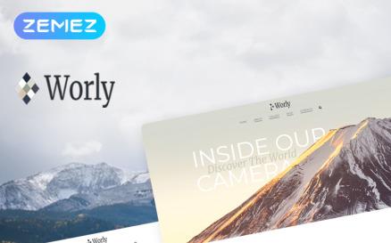 Worly - Photography Multipurpose Modern Elementor WordPress Theme