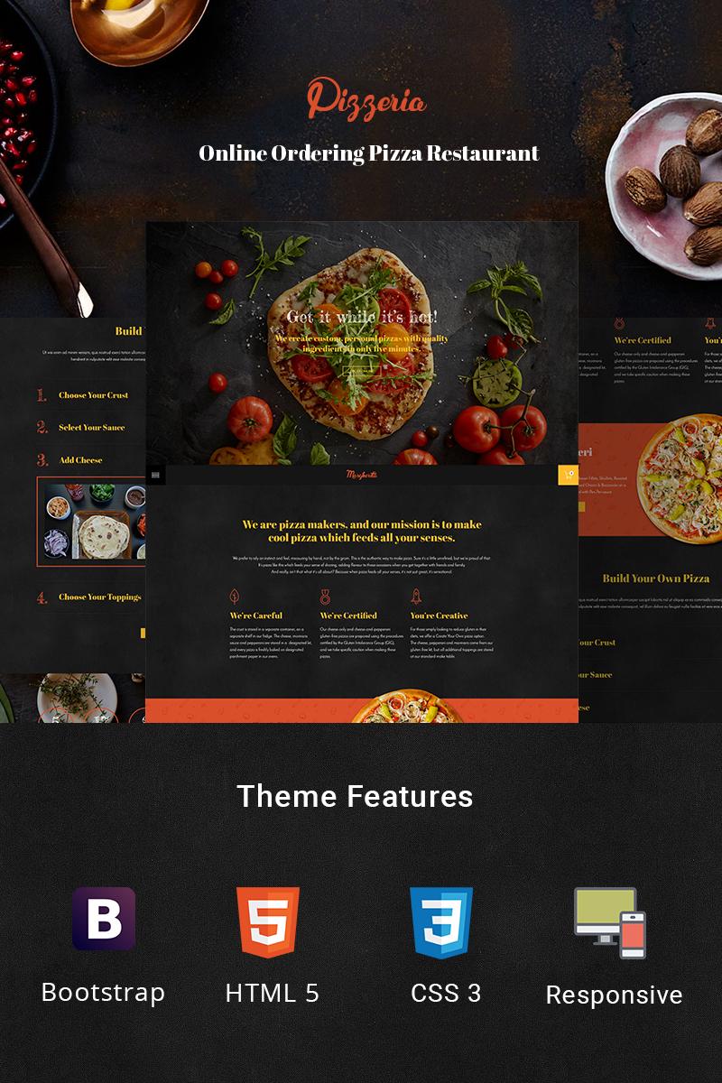"""Bootstrap Šablona webových stránek """"Pizzeria - Pizza Maker"""" #78480"""