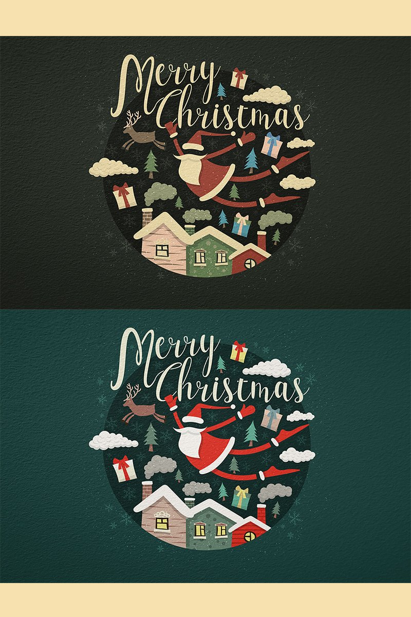 "Ilustrace ""Merry Christmas"" #78413 - screenshot"