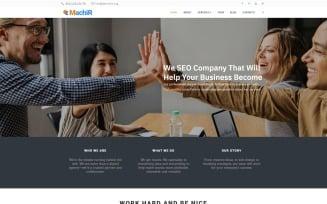 Machir - Digital Marketing Agency Multipurpose Modern WordPress Elementor Theme
