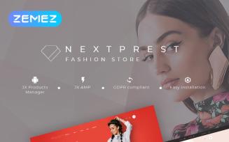 Nextprest - Fashion Store Clean Bootstrap Ecommerce PrestaShop Theme
