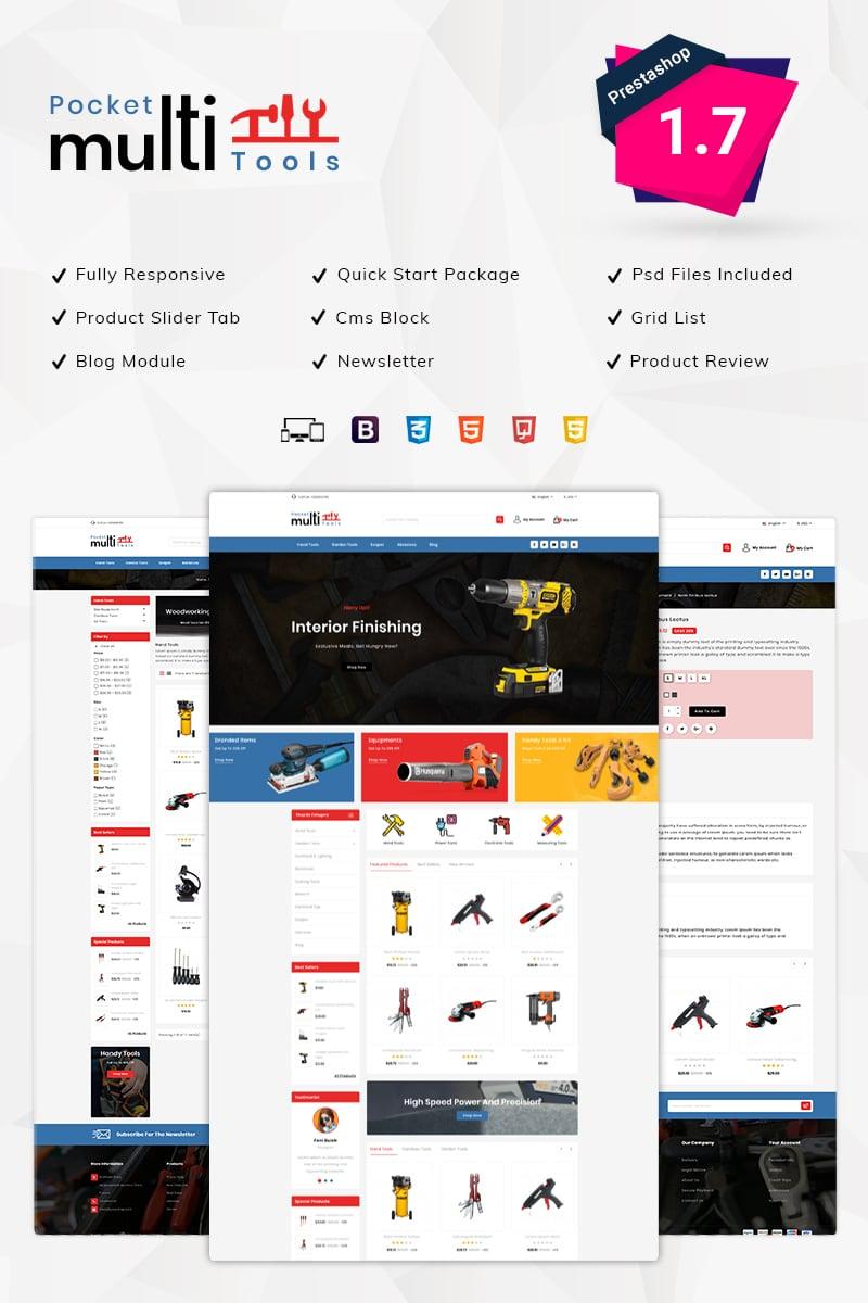 Pocket Multitools Store PrestaShop Theme