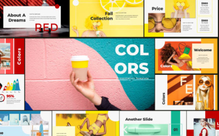 Colors Keynote Template