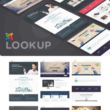 Купить  пофессиональные Joomla шаблоны. Купить шаблон #78719 и создать сайт.
