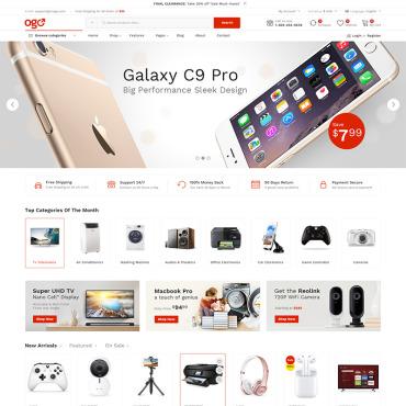 Купить  пофессиональные WooCommerce шаблоны. Купить шаблон #78736 и создать сайт.