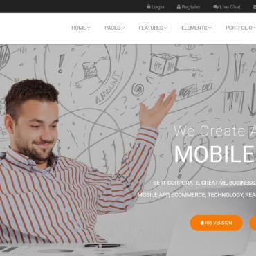 Купить  пофессиональные Joomla шаблоны. Купить шаблон #78760 и создать сайт.