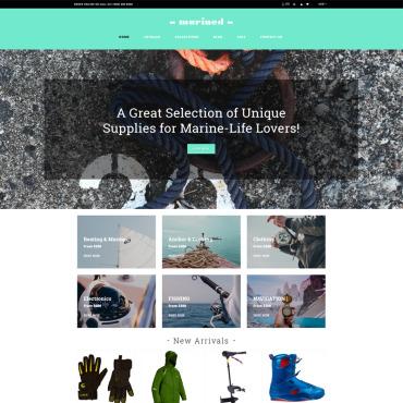Купить  пофессиональные Shopify шаблоны. Купить шаблон #78773 и создать сайт.