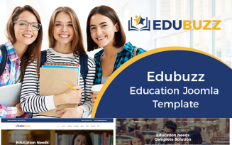 Edubuzz - Education Online Courses Joomla Template