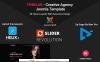 """Finnlab - Creative Agency"" Responsive Joomla Template New Screenshots BIG"