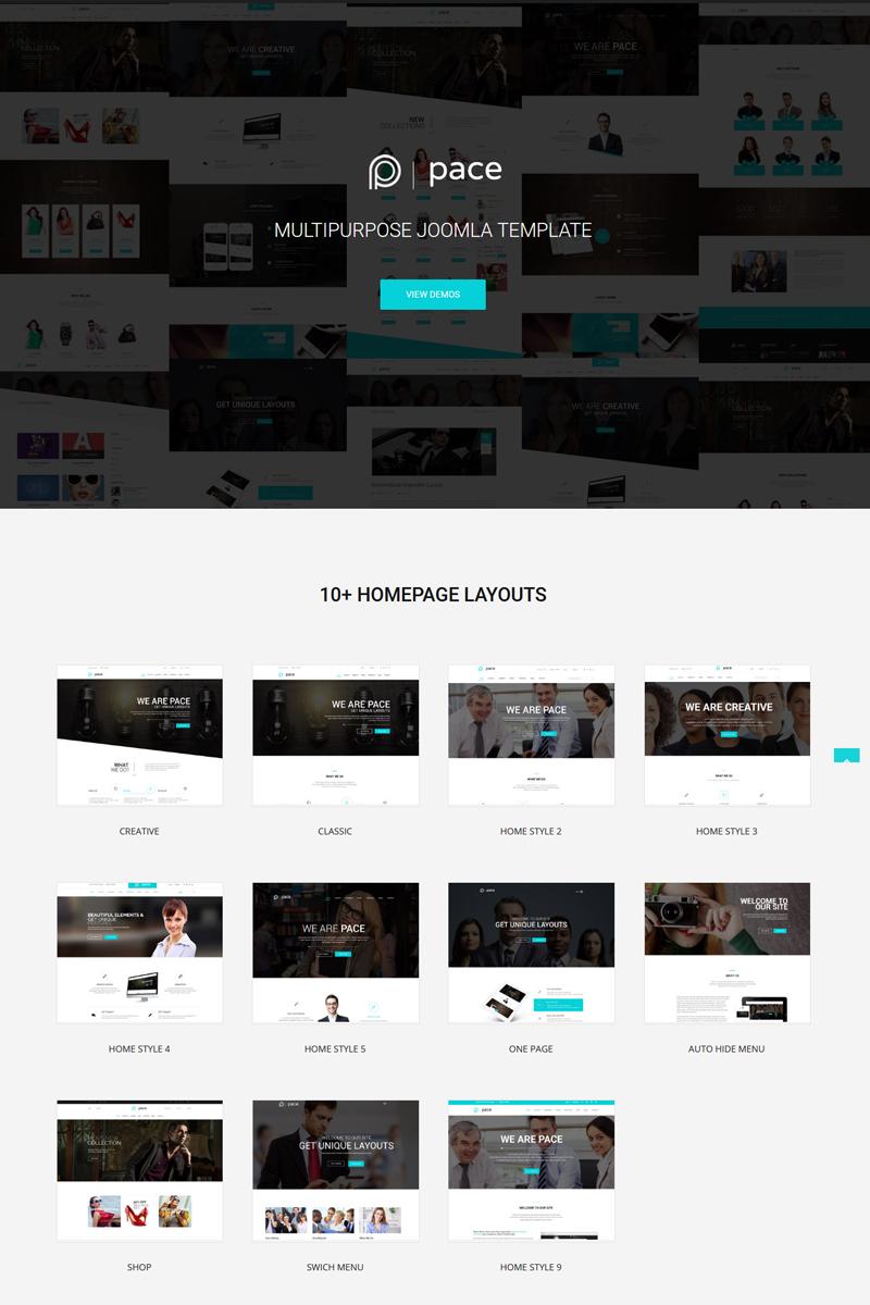 Reszponzív Pace - Responsive MultiPurpose Joomla sablon 78775