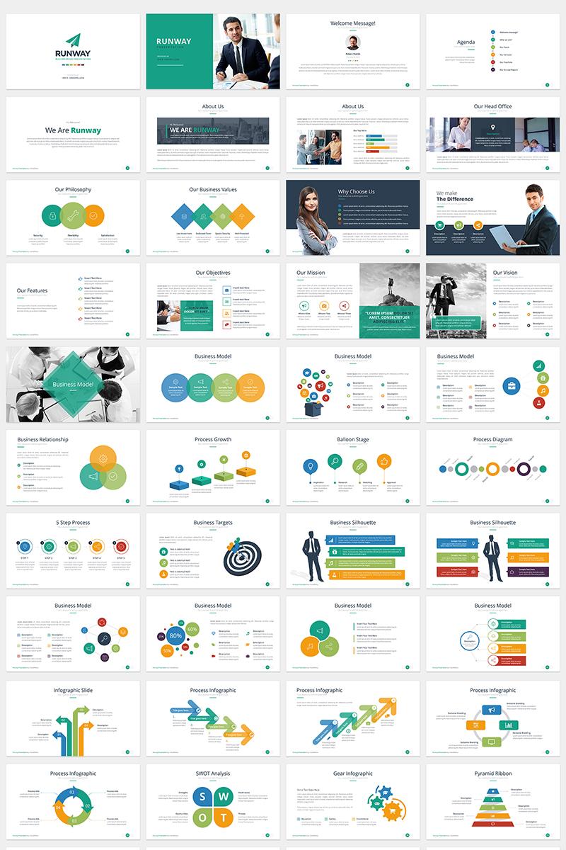 RUNWAY PowerPoint Template - screenshot