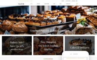 Sweet Life - Sweet Shop Creative Shopify Theme