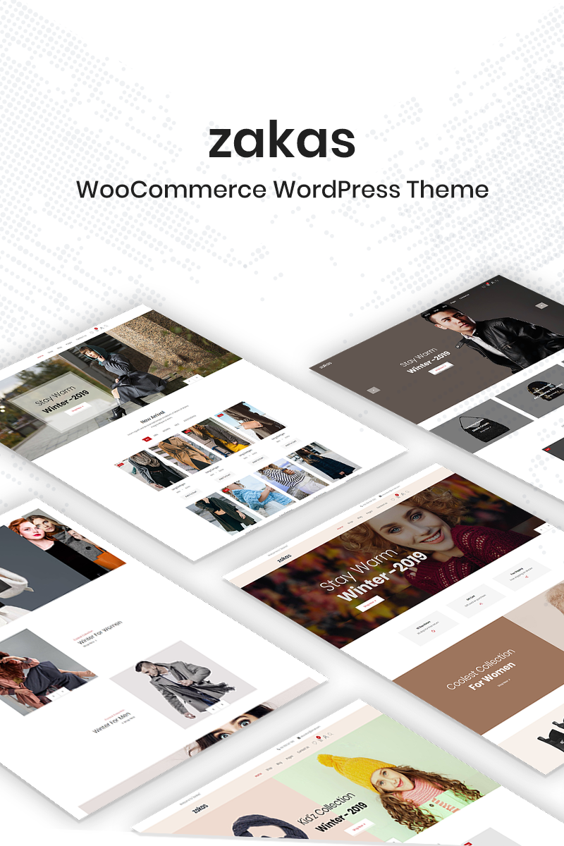 "WooCommerce Theme namens ""Zakas"" #78727"