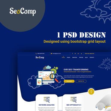 Купить  пофессиональные PSD шаблоны. Купить шаблон #78813 и создать сайт.