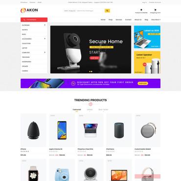 Купить  пофессиональные Shopify шаблоны. Купить шаблон #78828 и создать сайт.