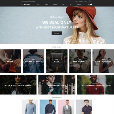 Купить  пофессиональные Shopify шаблоны. Купить шаблон #78871 и создать сайт.