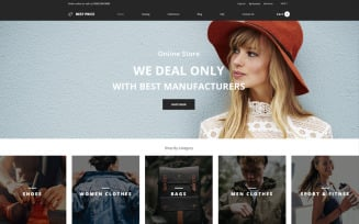 Best Price - Wholesale Store Multipage Creative