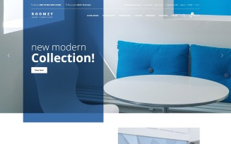 Roomzy - Furniture Clean OpenCart Template