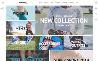 Asportix - Sport Equipment Store Clean Bootstrap Ecommerce PrestaShop Theme