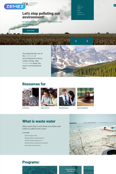Modèle Web adaptatif  pour site écologique