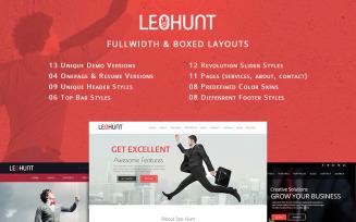 LeoHunt - Responsive MultiPurpose Joomla Template