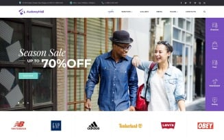 SparkMall - Shopping Mall Multipage Clean Joomla Template
