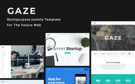Gaze | Premium Business Joomla Template