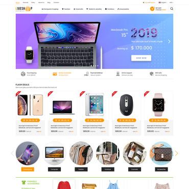 Купить  пофессиональные OpenCart шаблоны. Купить шаблон #78915 и создать сайт.