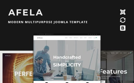 Afela | Flexible Multi-Purpose Business With Page Builder | Joomla Template