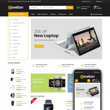 Купить  пофессиональные OpenCart шаблоны. Купить шаблон #78970 и создать сайт.