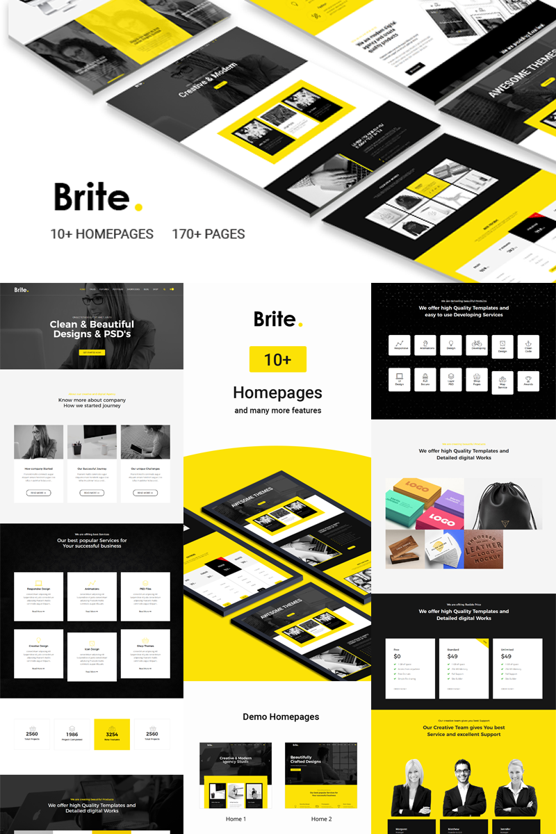 Brite | Responsive Business Joomla Template