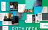 "Keynote Vorlage namens ""Pitch Deck Professional"" Großer Screenshot"