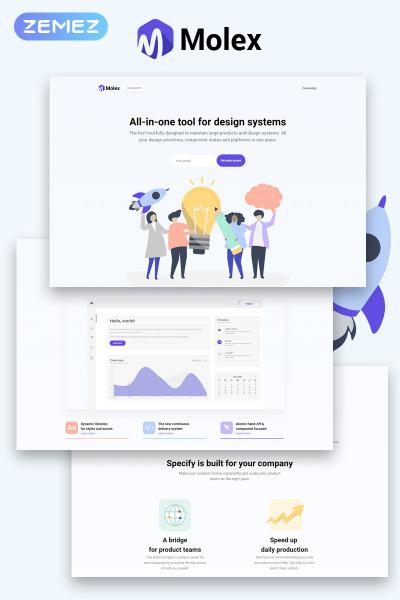 Flexível tema WordPress №78912 para Sites de Empresa de Software