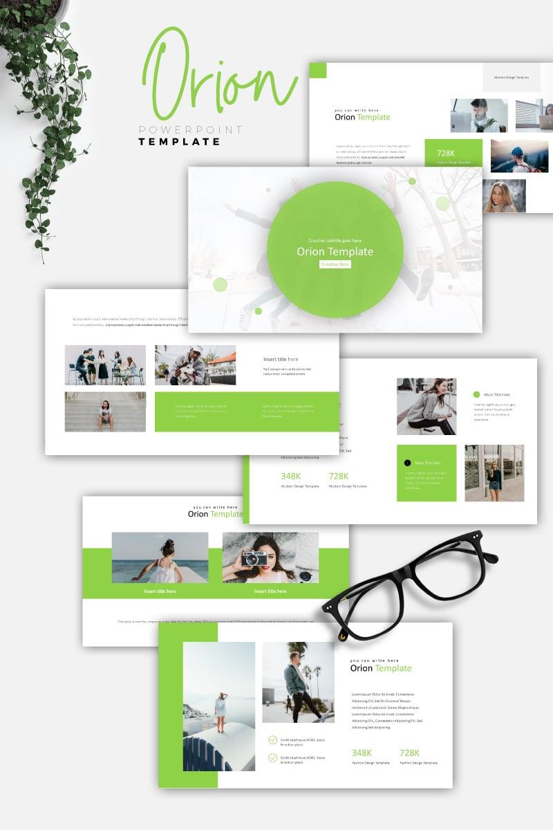ORION - Creative PowerPoint Template - screenshot