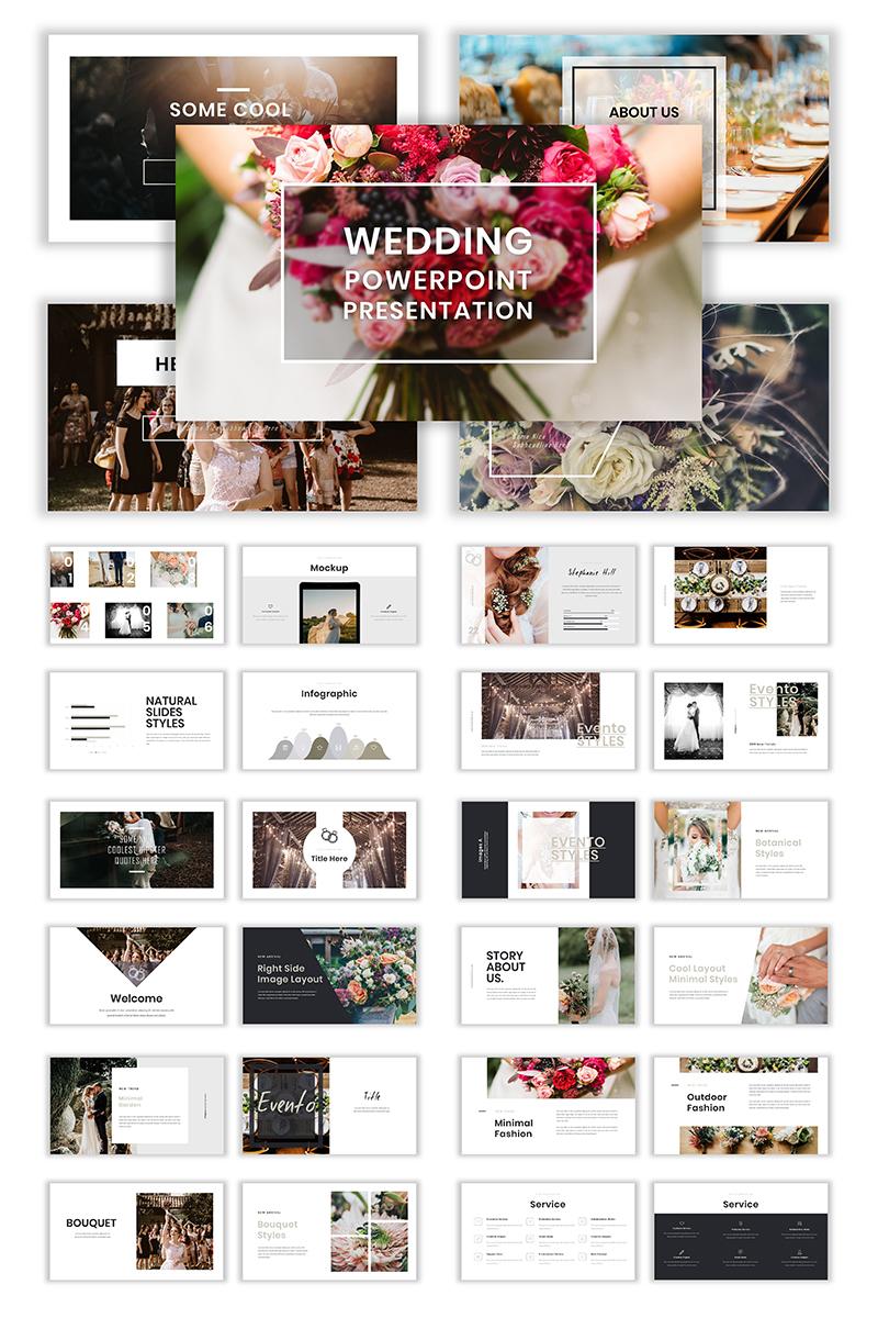 "Plantilla PowerPoint ""Wedding"" #78955"