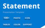 Statement PowerPoint Template