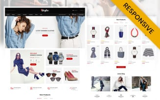 Style Apparel Store OpenCart Template