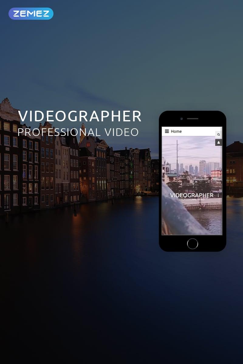 """VIDEGRAPHER - Video Lab Multipage Creative"" Responsive Joomla Template №78974"