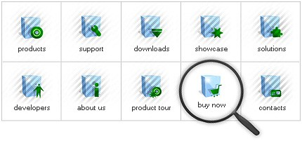 Icon Set Template 7928 Screenshots