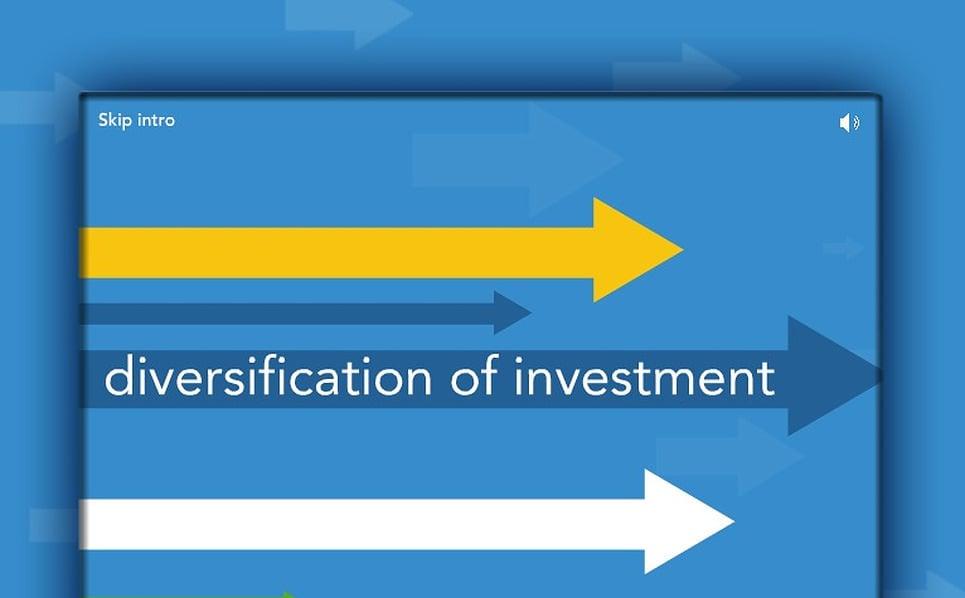 Flash Intro Vorlage für Investmentgesellschaft  New Screenshots BIG