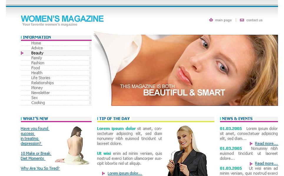 Modello siti web per un sito di media for Siti web di home plan