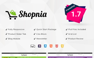 Shopnia - Shopping Store PrestaShop Theme