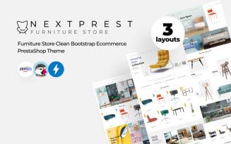 Nextprest - Furniture Store Clean Bootstrap Ecommerce PrestaShop Theme
