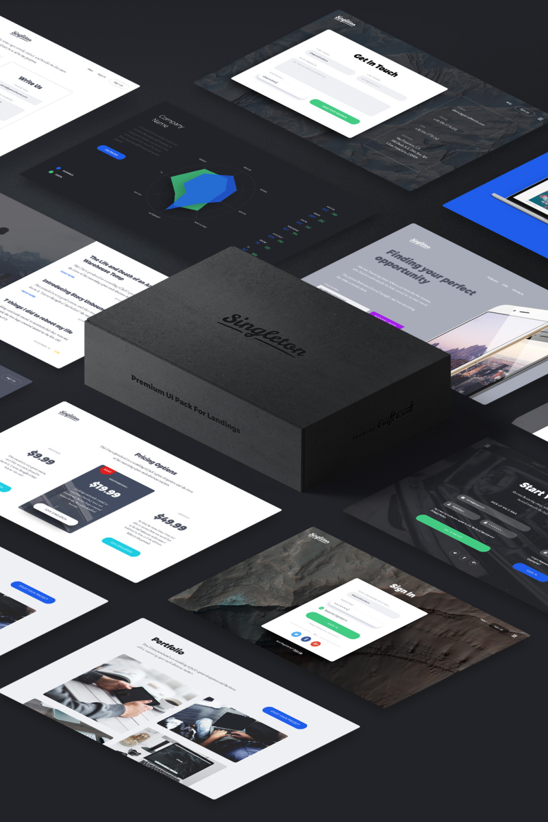 """Singleton UI Tool for Photoshop"" UI Elementen №79032"